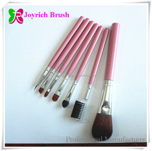 Beauty needs synthetic cosmetic Brushes Makeup Brush Pink with bag