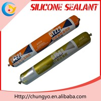 CY-550 Fire Resistant Silicone Sealant hdpe empty plastic cartridge for silicone sealant