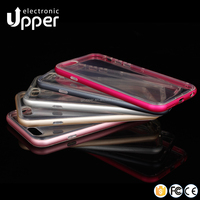 New cheap smart metal case with tpu for iphone 6