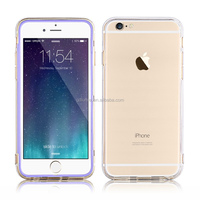 slim clear transparent full body rugged protective waterproof hard solid polycarbonate case for iPhone 6/ 6plus