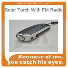 PH5090 Solar Torch With FM Radio BY Crank Dynamo OR Solar Powered