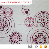 Floral print apparel and accessories fabric