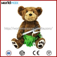 High quality Teddy bear custom stuffed plush toy TD1201-10