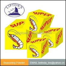 Shrimp flavor bouillon cube 10g 4g