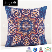 Elegant embroidered cushion covers plastic chair cushion