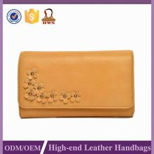 Highest Level Oem Production Promotional Price Leather Clutch Purse