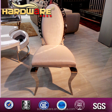 Elegent banquet dining chair dining chair restaurant chair PU and metal