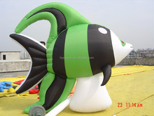 Green fish inflatable model/Promotional advertising Inflatable Model