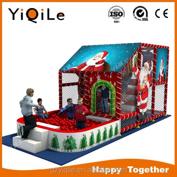 Merry Christmas theme design children indoor playground indoor equipment for children