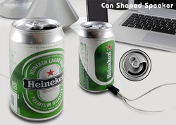 Good promotioanl mini beer can speaker