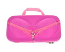 Protective Portable EVA Bra Case Organizer Case Bag for Underwear Lingerie