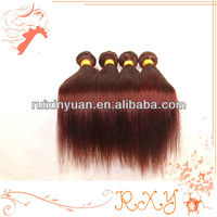 30 30 30 inches color 99j silky straight virgin brazilian human hair wavy