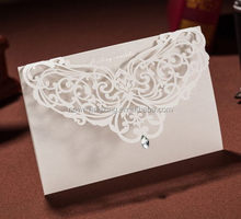Latest cheapest branded laser wedding invitation cards