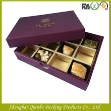 Manufacturer custom luxury recycled food paper packaging box