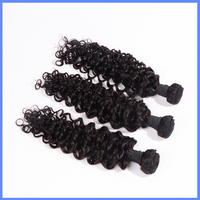 Top Quality 7A Unprocessed Wholesale 100% Brazilian Human Virgin Deep Curly Hair Weave, Human Hair Weaving