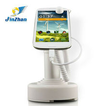 High quality shop exhibition display charging anti theft security alarm mobile phone holders