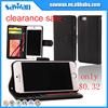 clearance sale Lichee Pattern PU leather phone case