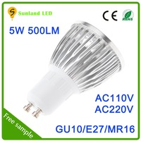 Factory Direct Sale Good heat dissipation dmx rgb mr16 led spotlight
