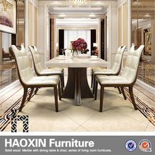 Hot sale Home Furniture Dining Room Set/ Wood Dining Set/ wooden table with 4 chairs dining set, dining table and chair for sale