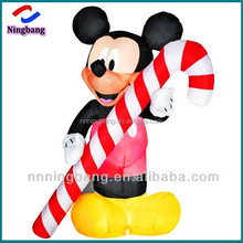 NB-CT20312 Ningbang Cartoon character inflatable mickey mouse action figure