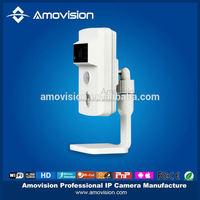 720P Built-in Mic Speaker P2P 720P smoke detector sensor Wireless IPCam Webcam for iPhone Android Smartphone