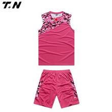 new best pink women uniform basketball designed