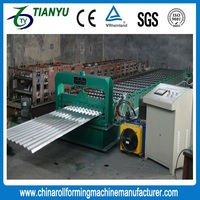 Material Metal steel deck cold roll forming machine