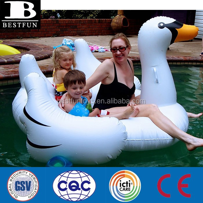 Large Swan Inflatable Pool