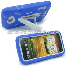 Kickstand combo case with clip for htc one x