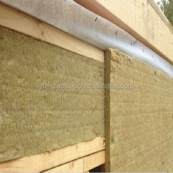 Soundproof And Acoustical Rock Wool Board And Mineral Wool