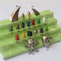 Wholesale all kinds of spikes,studs,rivet,plastic rivet,spike shoes