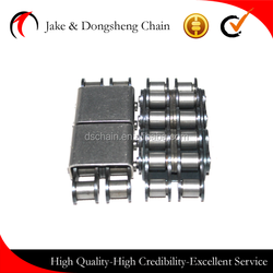 DSC/dsh special conveyor chains duplex/sinmplex roller chains with rectangle top