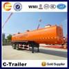 Multi-axle 33-60cbm water tank trailer for tractor