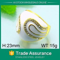 hot sale fashion enameled diamond rings,wholesale silver opal rings,unique fashion micro pave opal silver ring