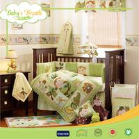 BBS018 100% cotton embroidered provide minion bedding, home bedding set