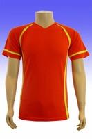 2015 high quality fitness short sleeve portable digital led football tshirt