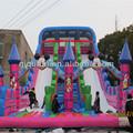 Heavy duty mickey toboganes manufacurers/personalizado toboganes inflables para la venta