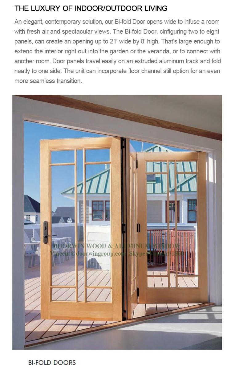 새로운 제품 이중 접이식 나무 문 디자인 중국 도매 공급 업체 ...
