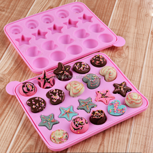 Baking pop cake mold FDA silicone chocolate mold