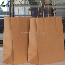 OEM support recycle Chinese gold factory direct sell kraft paper bread bag