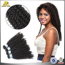 JP Hair 2015 New Arrival 100 Percent Human Curly Hair Weave Indian Double Drawn Virgin Hair
