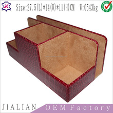 handmade leatherette Storage boxes/leather gift Storage boxes/PU leather storage boxes