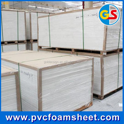 4x8 PVC Plastic celuka Sheet with different color/high denisty PVC forex sheet