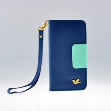 Leather phone wallet cell phone case for iphone 6