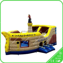 commercial inflatable pirate ship, inflatable pirate slide,inflatable pirate bouncer