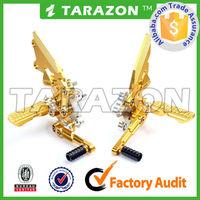TARAZON Motorcycle Hot Sale Stunning CNC Billet Adjustable Footrest Front Control Sets for Ninja 250