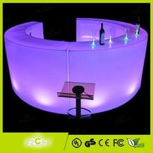 Ronda de led barra de bar, iluminado de barra de bar, portátil de barra de bar