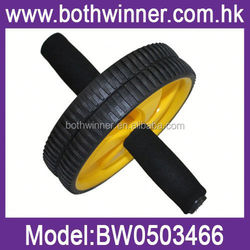 BJ058 ab roller double exercise wheel