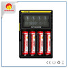 Nitecore D4 LCD 18650 battery charger for lg 18650 battery