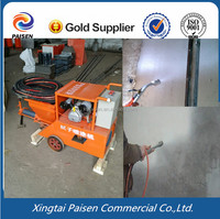 Building applications wall spray putty tool/machine to spray putty/coating
